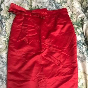 Deadly dames red skirt